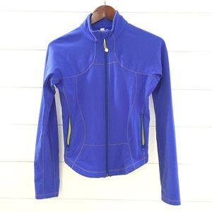 LULULEMON Forme Shape Zip Up Jacket Vivid Blue
